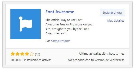 agregar font awesome a wordpress