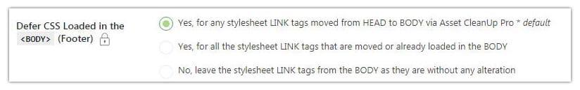 mover las hojas de estilo con asset cleanup wordpress