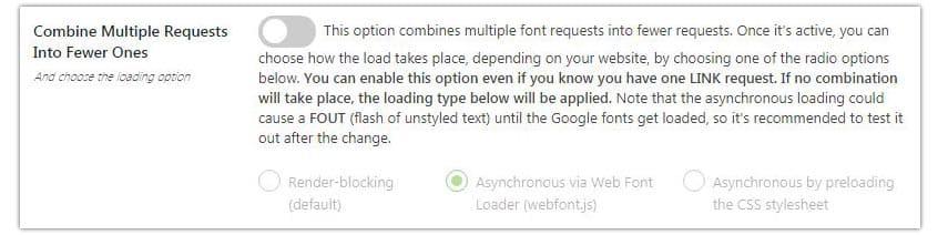 combinar fuentes de google font