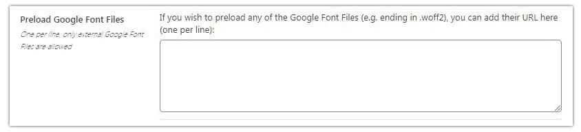 precargar archivos especificos