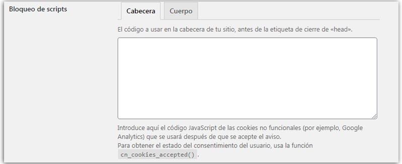 elementor cookie banner