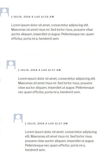 comentarios wordpress