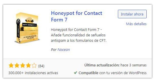 Honeypot, el mejor sistema para evitar el spam en contact form 7