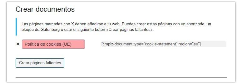 wordpress cookies gdpr