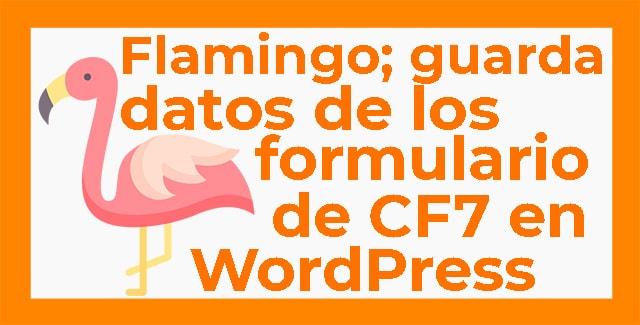 guardar datos de formularios en WordPress