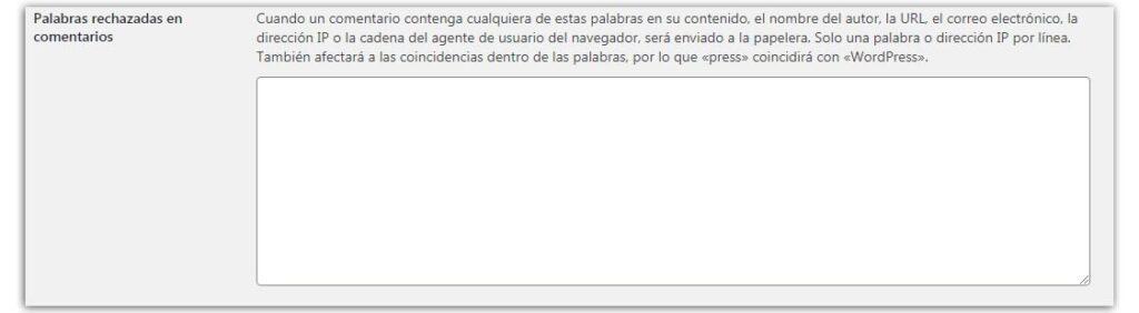 quitar comentarios en wordpress